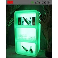 Wholesale RGB Rechargeable Illuminated Floor Standing Wine Rack Bar Furniture For Night Club from china suppliers
