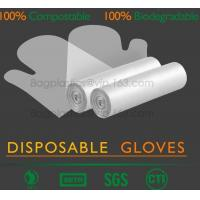 Buy cheap medical compostable disposable plastic gloves, EN13432 BPI OK compost home ASTM D6400 cheap Factory OEM biodegradable di from wholesalers