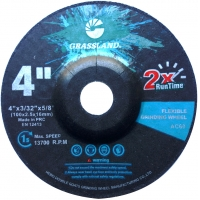Wholesale 4 Inch Stainless Steel 100×2.5x16mm Flexible Grinding Disc from china suppliers