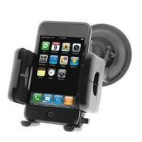 China 360 degree rotation Iron Mobile Car Mount GPS Holders for Cellphone iphone4 on sale