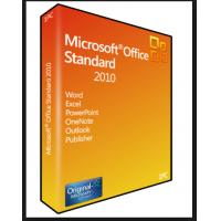 Wholesale 32 / 64 Bit Product Key Code PC Computer Software Microsoft Office 2010 Standard Digital Download from china suppliers