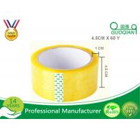 Wholesale 45 Micron Clear Bopp Packing Tape , Carton Sealing Packaging Tape 55 Yard from china suppliers