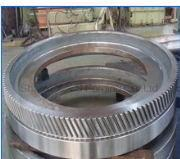 Buy cheap Machined big module spur steel gear from wholesalers