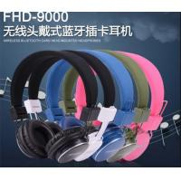 Wholesale iPhone Bluetooth Wireless Headphones / Earpiece with TF Card , Handfree , FM Stereo Radio from china suppliers