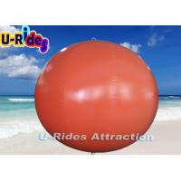 Wholesale Digital Print Red Round Inflatable Pool Toys Buoys With Hot Air Welding from china suppliers