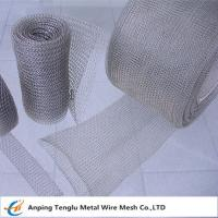 Wholesale Knitted Wire Mesh Roll|Knit Wire By Stainless Steel/ALuminum  0.08mm~0.55mm Wire from china suppliers