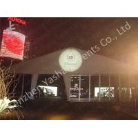 Wholesale Luxury Linings Decorated Fabric 20x20 party tent With Sidewalls , Aluminum Frame Marquee from china suppliers