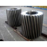 Wholesale ASTM A291 Class 4 ASTM A290 Class D Forged Forging Steel Bull Gear Pinion Bull Gear Rim For Emergency Gate Machinery from china suppliers