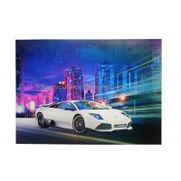 Wholesale Car Poster  Lenticular 3d Effect Poster PET CMYK Offset Printing from china suppliers