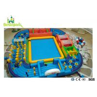 Wholesale EVA Cover Soft Toddler Play Area , Kids Play Gym For 3 - 15 Years Old from china suppliers