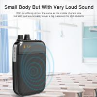 Wholesale Ultralight Light Mini Portable Voice Amplifier LED Display Rechargeable Loudspeaker with FM for School, Super Market from china suppliers