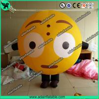 Wholesale Oxford Inflatable Balloon Costume Moving QQ Cartoon Inflatable Customized from china suppliers