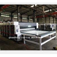 Buy cheap QH corrugated cardboard chain feeder flexo printing slotter die cutter machine from wholesalers