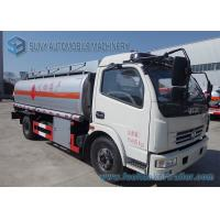 Wholesale Oil Tanker Truck / Liquid Nitrogen Tanker Truck With Air Braking System from china suppliers