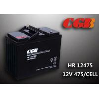 Wholesale Energy Sotrage High Rate Discharge Battery , Lead Acid Deep Cycle Battery 12V 135AH from china suppliers