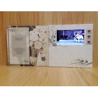Wholesale TFT Video Booklet for Invitation / Wifi promotional video cards for opening veremonies from china suppliers