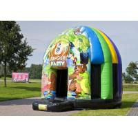 Wholesale Disco 14.7FT Jungle Bouncer,Animal Theme For Rental Event from china suppliers