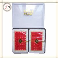 Wholesale NAP PLASTIC DOUBLE DECK PLAYING CARDS from china suppliers