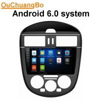 Buy cheap Ouchuangbo car radio android 6.0 for Nissan Tiida with MP3 gps navi 1080 video reverse camera  4*45 Watts amplifier. from wholesalers