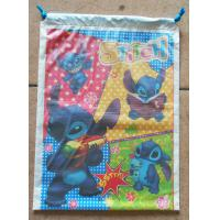 Wholesale Customized Printed Plastic Drawstring Bag/Children are very fond of cartoon bags from china suppliers
