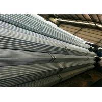 China High Zinc Coating Gi Pipes Or Galvanised Steel Tube With American Or British Threads And Plastic Caps on sale