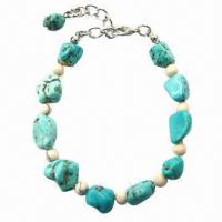 Wholesale Turquoise bracelet, customized special packing types are accepted  from china suppliers