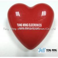 Wholesale Heart Shaped Flashing LED Badges For Festival Items , Party Flashing Items from china suppliers
