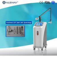 Buy cheap FDA approval 3 years warranty RF tube powerful skin resurfcing Fractional CO2 laser from wholesalers