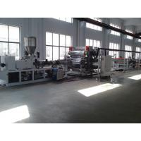Wholesale ABS PP PE PET EVA PMMA plastic sheet making machine from china suppliers