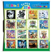 Wholesale F13-218 32GB 218 in 1 218 in one Multi games Card for DS/DSI/DSXL/3DS Game Console from china suppliers