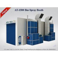 Quality AT-1500L 15m Bus Spray Booth,Semi Downdraft Spray Booth,china paint booth manufacturer for sale