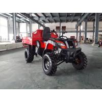 Buy cheap Red One Seat 200CC GY6 4x4 Utility ATV FAMER Tractor , Tipping Quad from Wholesalers