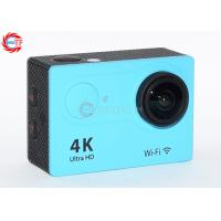 Buy cheap 2.0 Inch LCD Blue 4k Sports Action Camera FHD Wide Angle With Water Proof Case from Wholesalers