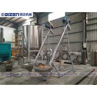 Wholesale 3M Height Spiral Flexible Screw Conveyor Stainless Steel Hopper Loader from china suppliers