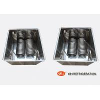 Wholesale Chiller Water Cooled Heat Exchanger Evaporator Coil For Carrier Air Conditioner spiral coil heat exchanger from china suppliers