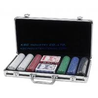 Wholesale POKER CHIP SET-CHIPS, 2 DECKS OF CARDS, AND DEALER/BLIND CHIPS-STURDY CASE!! from china suppliers