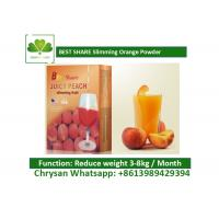 Wholesale Peach Powder Leisure Slimming Juice , Fat Burning Fruit Juice For Weight Loss from china suppliers