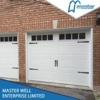 Buy cheap China supplier steel PU foam insulated automatic sectional folding garage door with pedestrian/small door from wholesalers