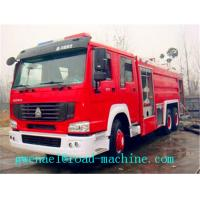 Wholesale 6 x 4 SINOTRUK HOWO 12m3 Fire Fighting Truck Water Tank With Foam Tank ZZ1257N4347C from china suppliers