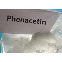 Buy cheap 99.6 Purity Pharmaceutical Grade Fenacetina Phenacetin CAS 62-44-2 for Pain-Relieving from wholesalers
