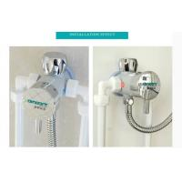 Wholesale Chrome Small Thermostatic Shower Mixer Valve , Intelligent Thermostatic Control Valve from china suppliers