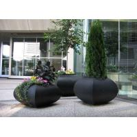 Wholesale Professional Large Stainless Steel Planters For Building / Public Decoration from china suppliers