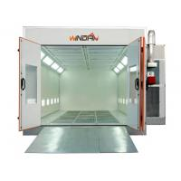 Buy cheap 7.5KW Exhaust Turbo Fan Downdraft car Spray Booth For Automobile Painting, from wholesalers