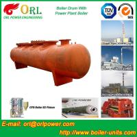 Wholesale SA516GR70 Steel steam boiler mud drum ASME from china suppliers