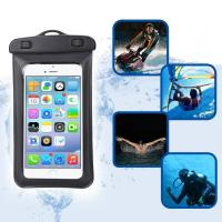 Wholesale Amphibious Floatable Waterproof Phone Pouch Bag With Lanyard and Armband Strap For Swimming / Running from china suppliers