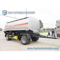 Wholesale International DoubleFull Axle 15000L Oil Tank Trailer Or Chemical Liquid from china suppliers