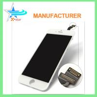 Wholesale White / Black iPhone LCD Screen Replacement , Capacitive iPhone 6 LCD Screen Assembly from china suppliers