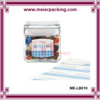 Wholesale Popular Design Button Packing Glass Bottle Sticker Label Printing Adhesive Sticker ME-LB010 from china suppliers