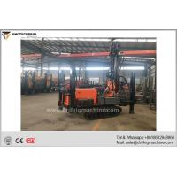 Wholesale Professional Crawler Chassis Water Well Drilling Rig 5000 - 6500N.M Rotation Torque from china suppliers