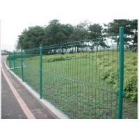 Wholesale PVC Coated Steel Wire Fencing 55mmX200mm Wire Mesh Garden Fence from china suppliers